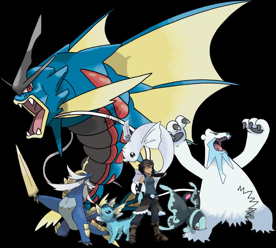 Team Avatar: Korra's Pokemon Team By Tails19950 On DeviantArt