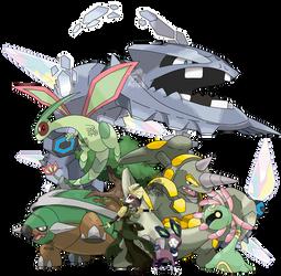 Avatar - Kyoshi - Pokemon Team by Tails19950