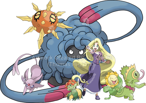 Rapunzel - Pokemon Team