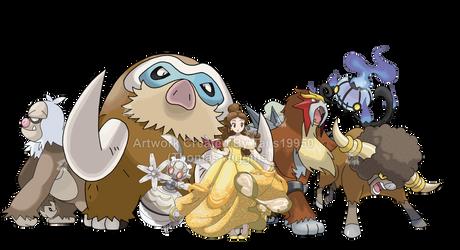 Belle - Pokemon Team