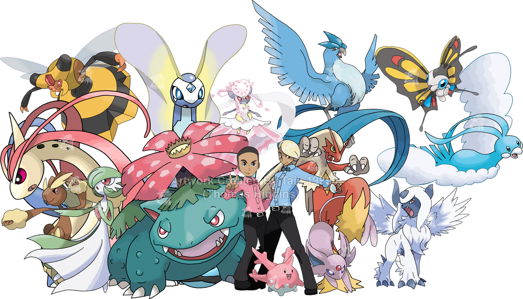 Commission Caonabo And Roy S Pokemon Teams By Tails19950