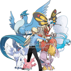 Commission - Caonabo's Pokemon Team