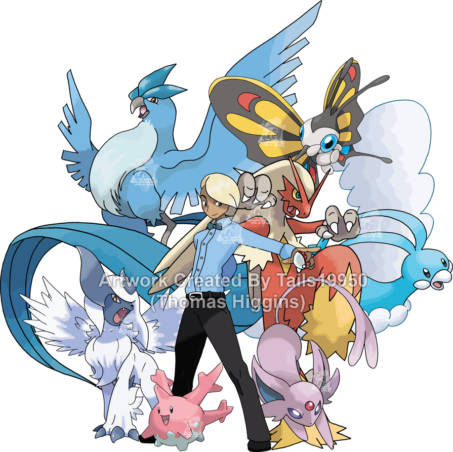 Commission - Caonabo's Pokemon Team by Tails19950 on ...