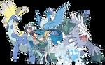 Elsa - Pokemon Style (With Team) - Team v.3