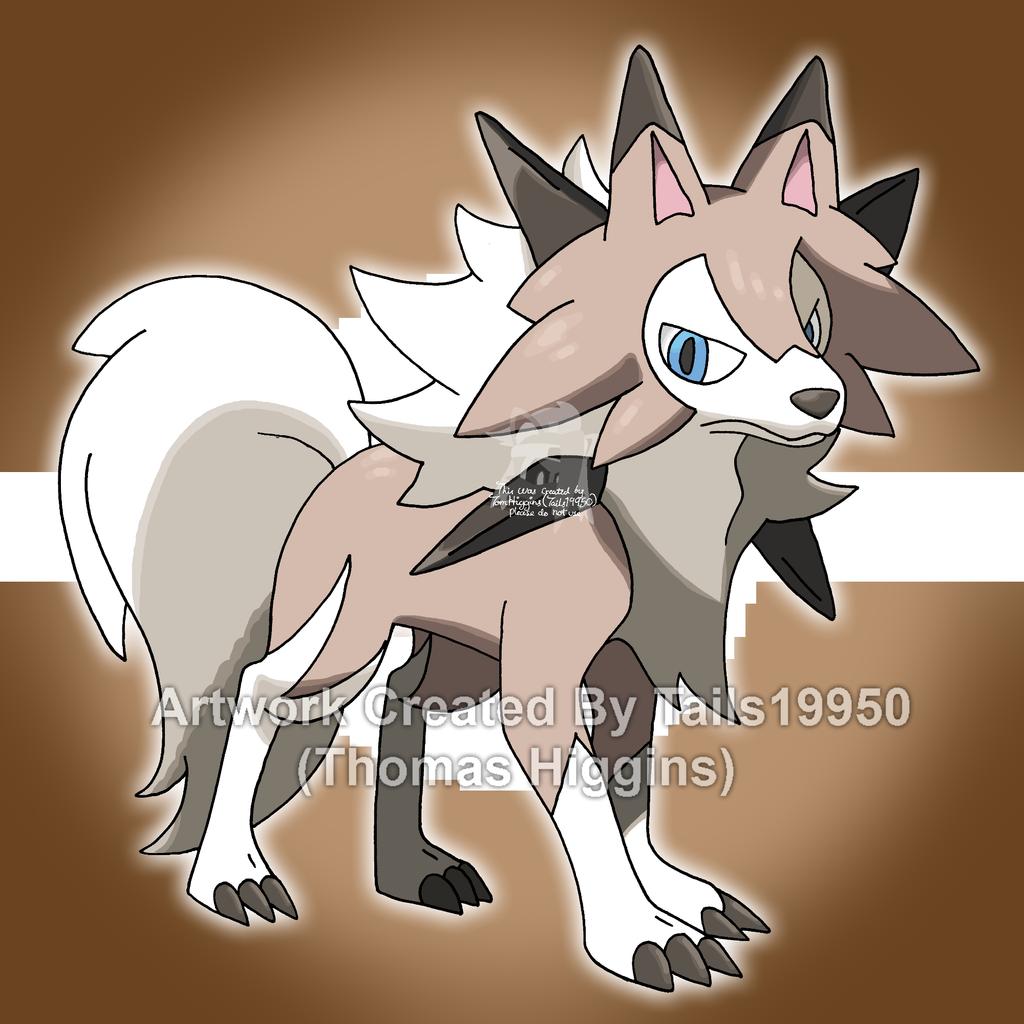 Lycanroc (Midday Form) by Tails19950 on DeviantArt