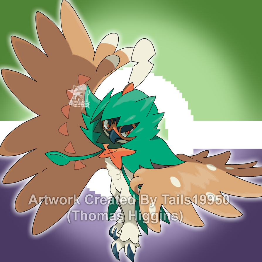 decidueye and chestnaught trying - photo #13