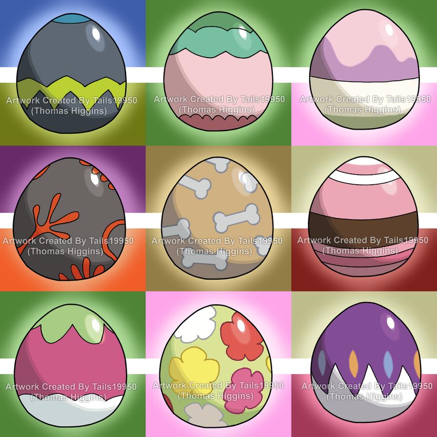Alolan Pokemon Eggs Part 3 By Tails19950 On Deviantart