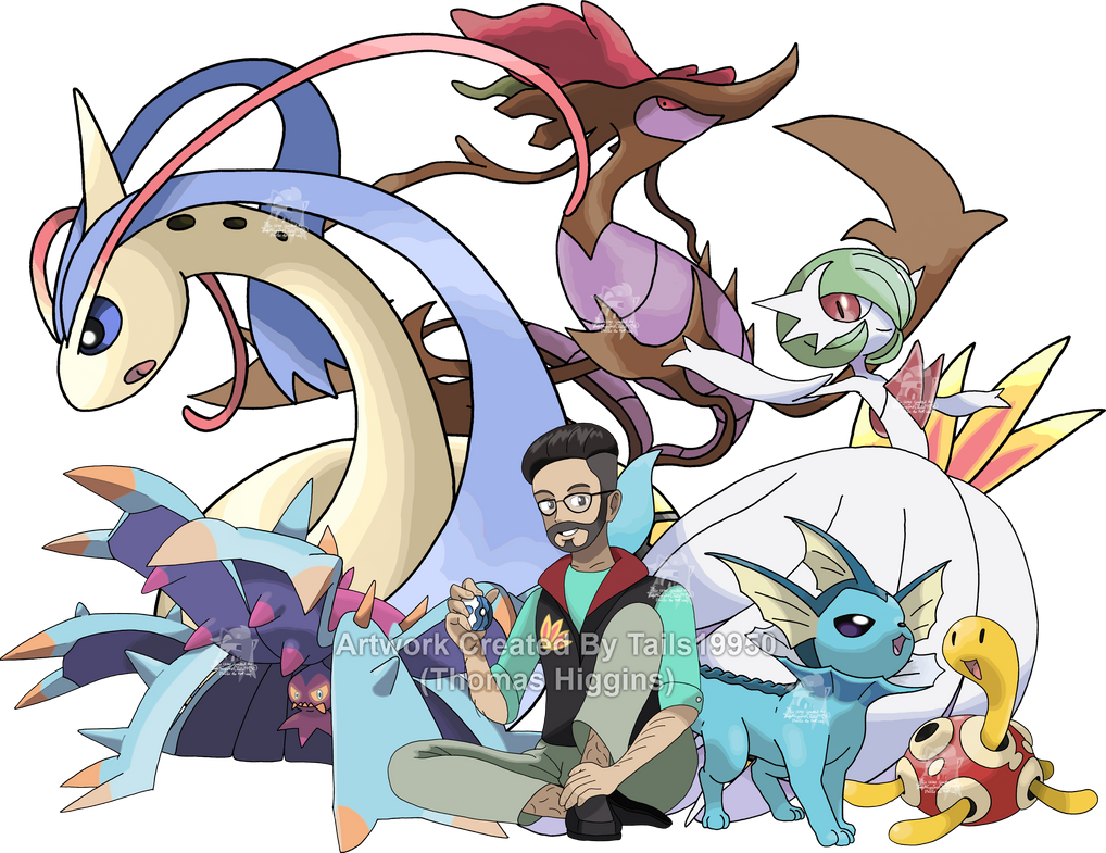 Commission - Christian's Pokemon Team by Tails19950