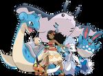 Moana - Pokemon Team - v.2
