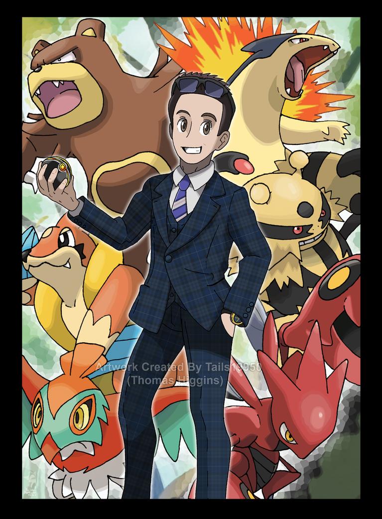 Commission - Alex's Pokemon Team by Tails19950