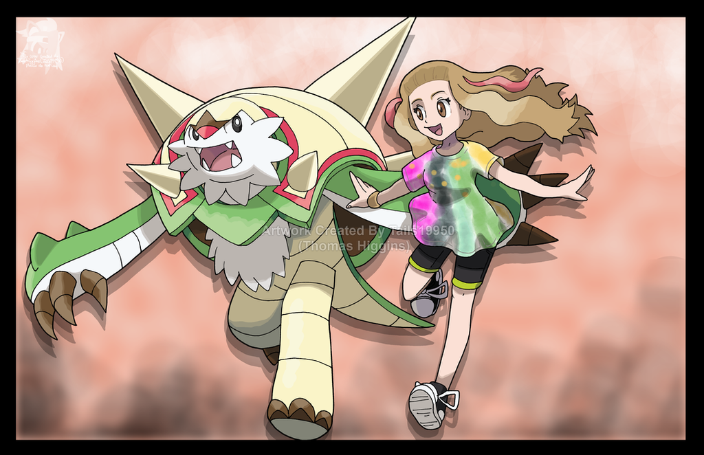 Commission - Best Partner, Chesnaught by Tails19950