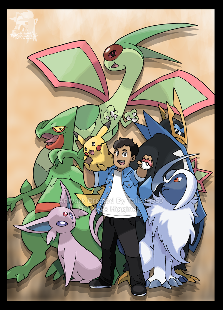 Commission - Angel's Pokemon Team by Tails19950