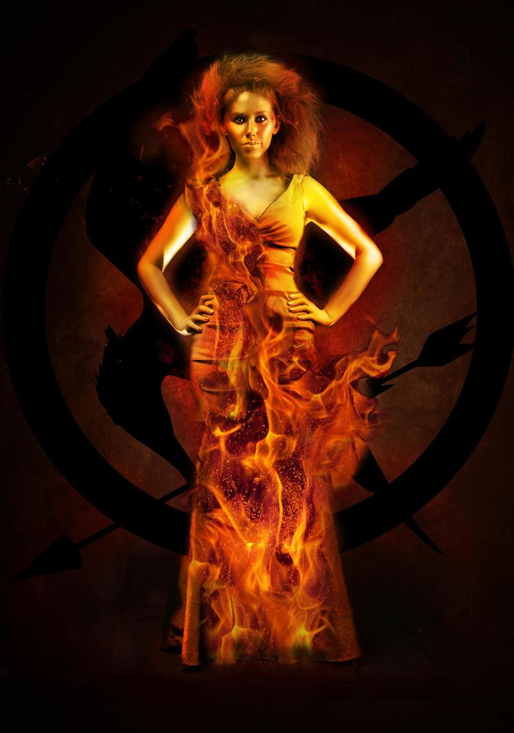 Girlonfire by MariahBlack09