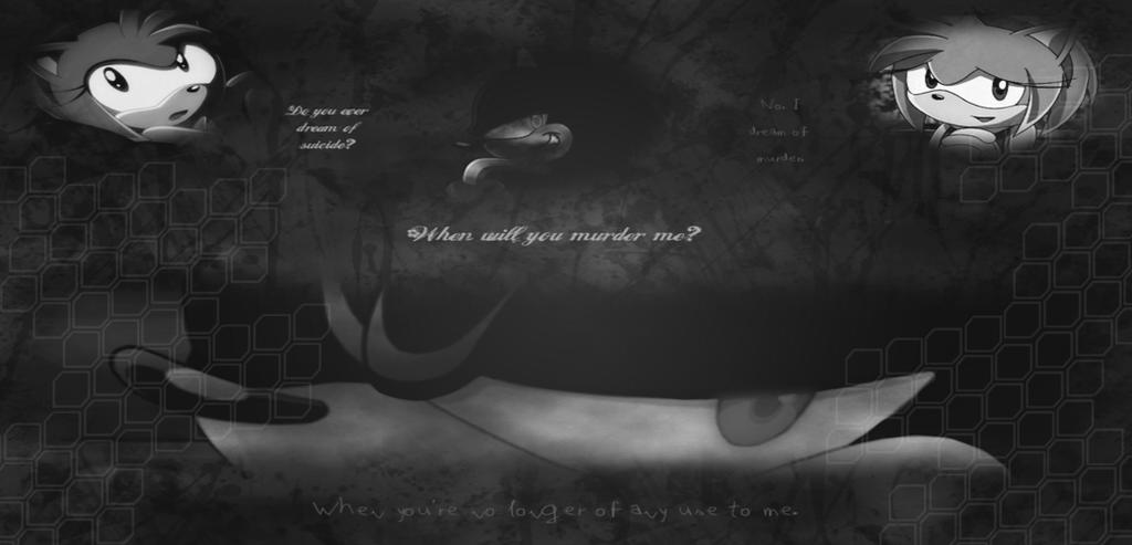 Dark Super Sonic Wallpaper 4 By Werehog Fury