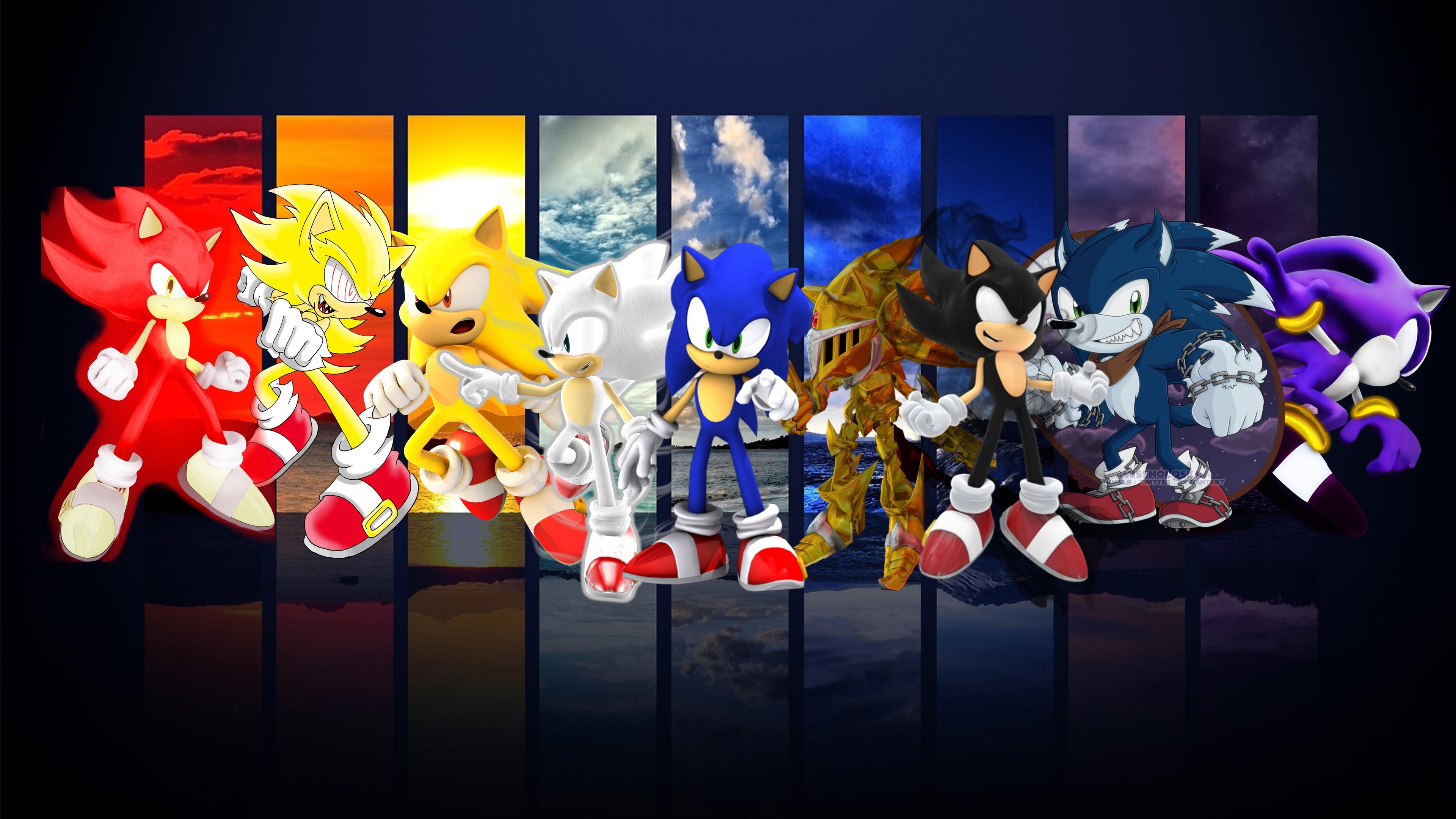 Sonic Form Wallpaper By Werehog Fury