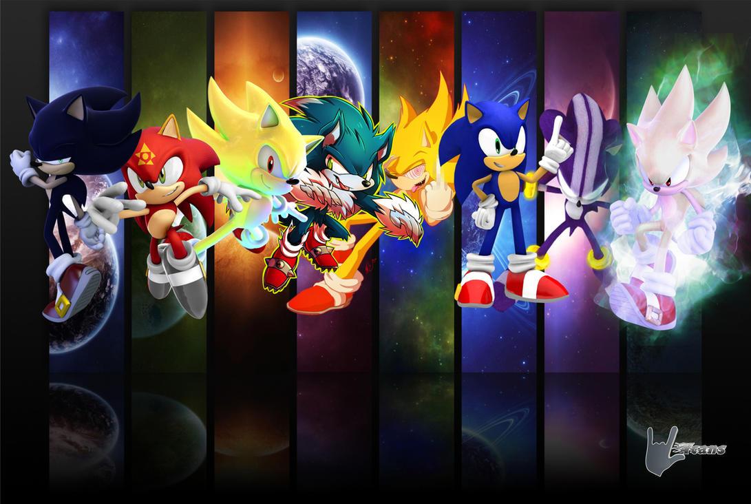 Sonic Form Wallpaper 2 By Werehog Fury