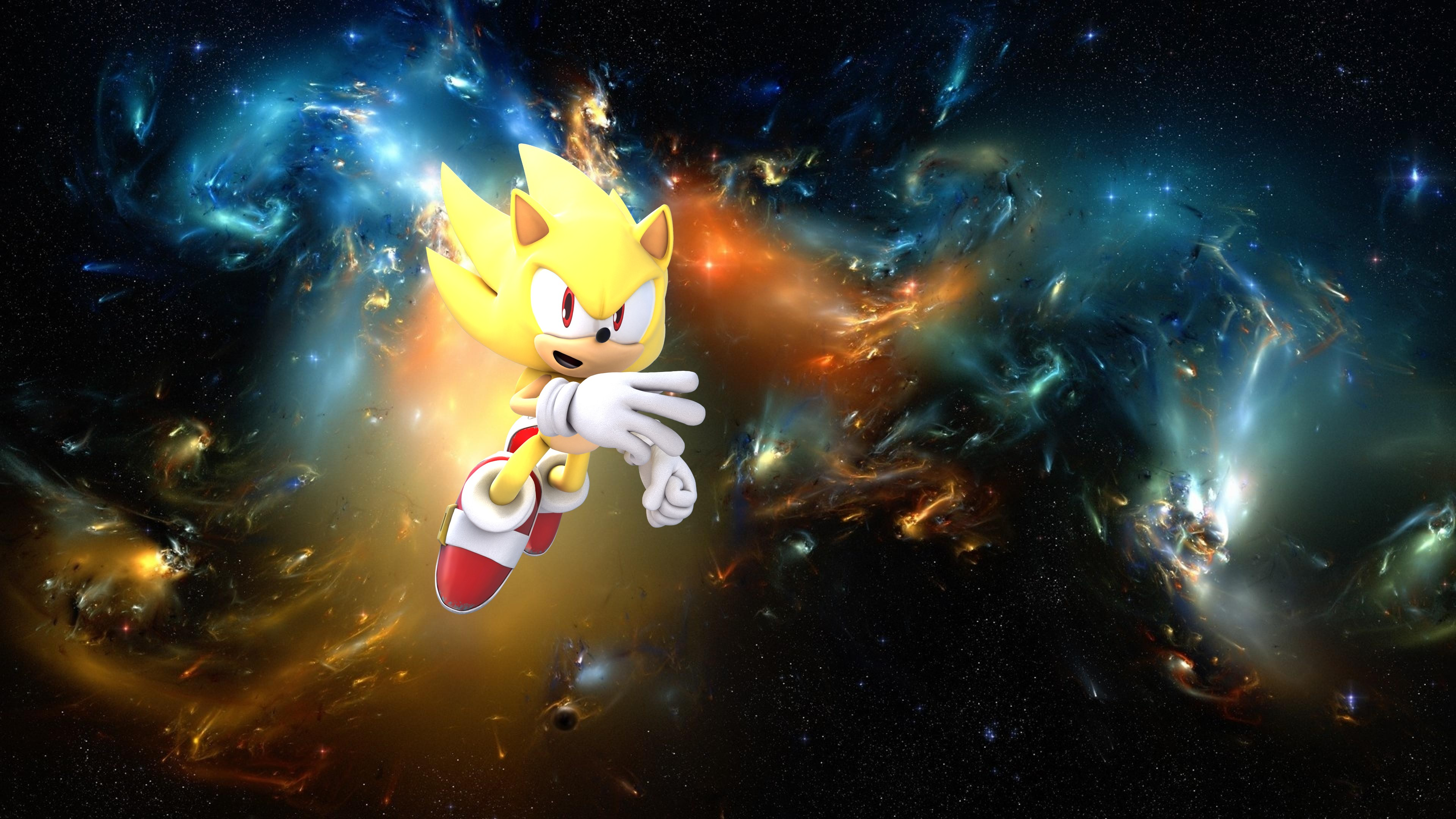 Super Sonic Wallpaper 7 By Werehog Fury