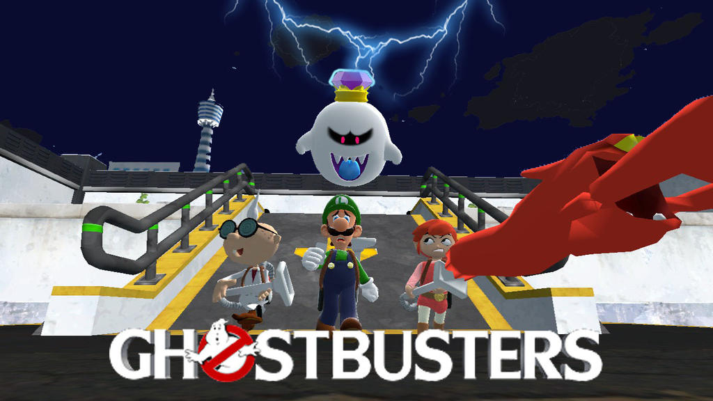 Nintendo Ghostbusters. by shadowthehedchogfile
