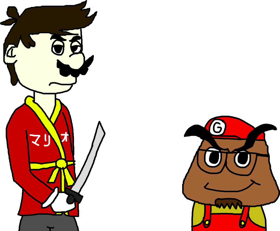 gaijin goomba halloween contest entry. by shadowthehedchogfile