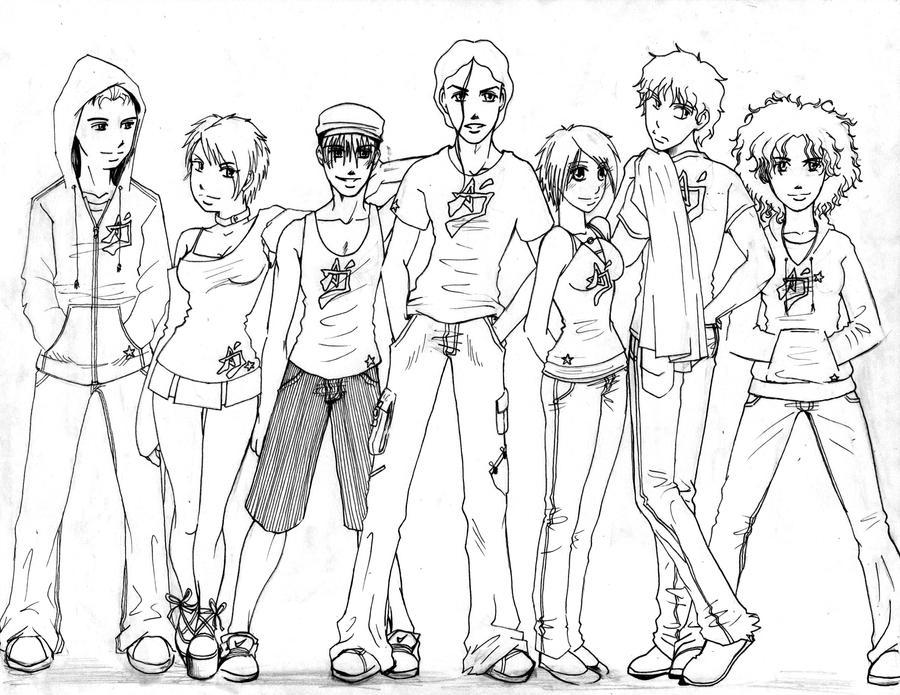 Drawing Group - Gay Japanese Guys