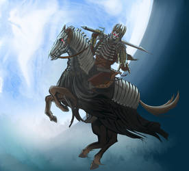 Eredin the king of the hunt by Aerdium