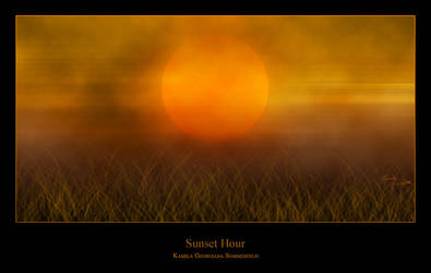 Sunset Hour by Georgiana