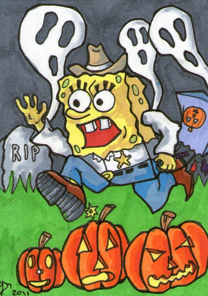 Spongebob Halloween SC 1 by johnnyism on DeviantArt