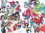 Epic Battle Marvel vs DC