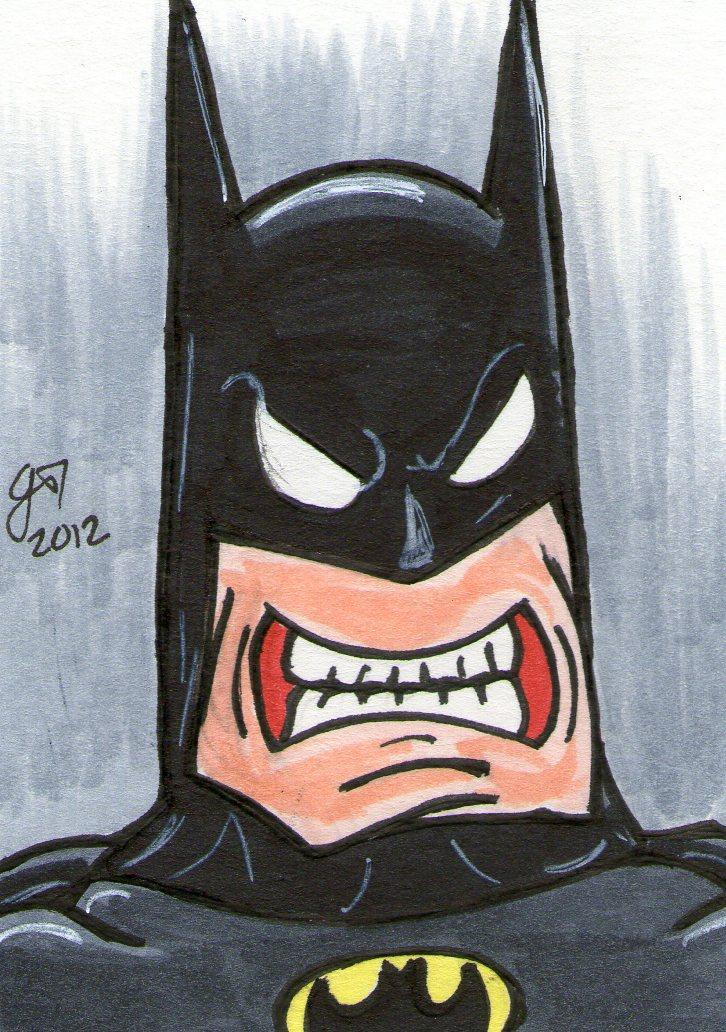 Oh Batmannn PSC by johnnyism
