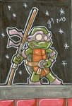 Donatello cardboard sketch card