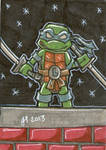 Leonardo cardboard sketch card