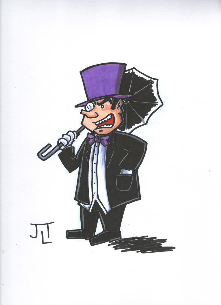 The Penguin by johnnyism