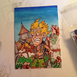 Junkrat Sketch Card