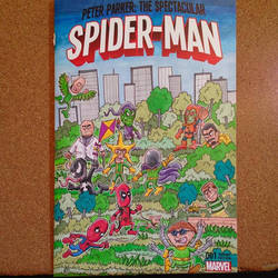 Spider-Man sketch cover