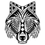 Wolf Tatto0 by jedrass