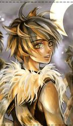 UHU - Owl's fan art by qkie