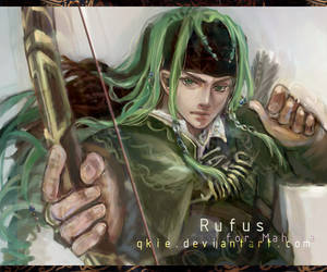 Rufus the Einherjar by qkie