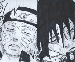 Naruto and Sasuke deaths