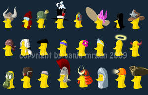 Duck Hats Final...for now