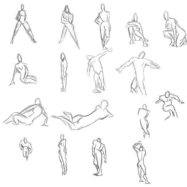 Pose Studies by Vanjamrgan