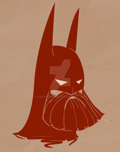 Bearded: Batman by Vanjamrgan