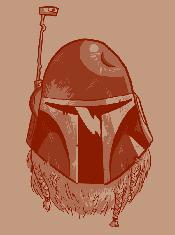 Bearded: Boba Fett by Vanjamrgan