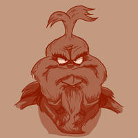 Bearded: The Grinch