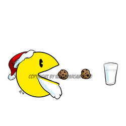Christmas Pac-Man