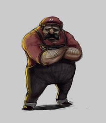 Mario. by Vanjamrgan