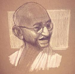 Gandhi. by Vanjamrgan