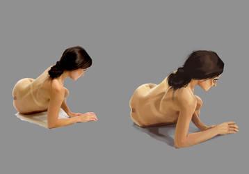 More Lady Practice by Vanjamrgan