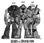 Gears of Education by Vanjamrgan