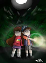 Gravity Falls by ChibiGaia