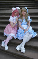 Alice Lolita with Inu by Ai-Megumi